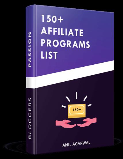 affiliate program list
