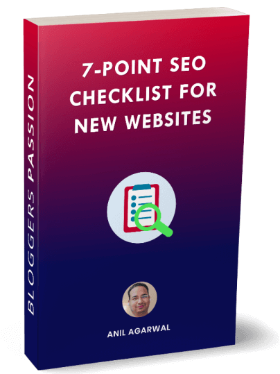7-Point SEO Checklist For New Websites
